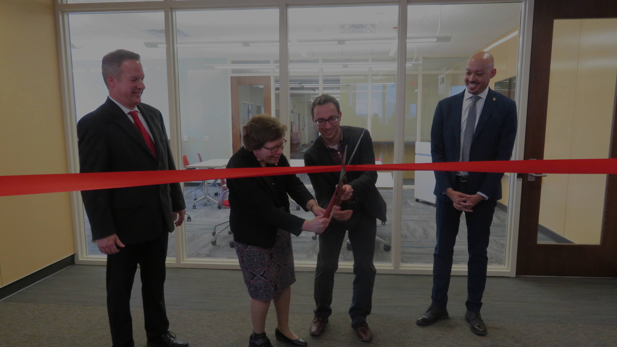 Ribbon Cutting Ceremony at SSTAR Lab in February
